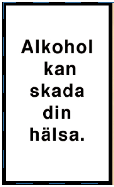 Alkoholvarning
