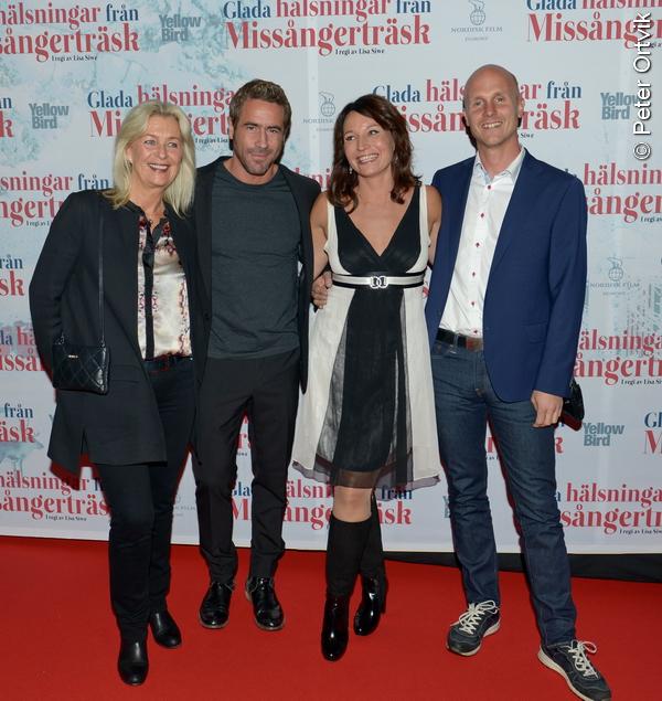 """Martina Haag: Gala-Filmpremiär: Martina Haag & Ola Rapace I """"Glada"""